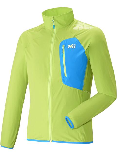 Millet M's LTK Airy Jacket Acid Green/Electric Blue